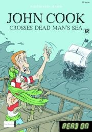 kommas easy reading: john cook crosses the dead man's sea and other stories - bog