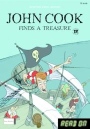 kommas easy reading: john cook finds a treasure and other stories - bog