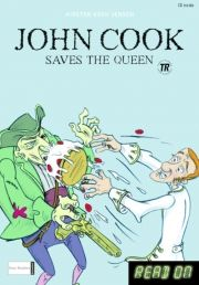 kommas easy reading: john cook saves the queen and other stories - bog