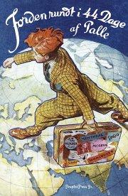 jorden rundt i 44 dage - bog