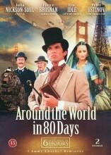 jorden rundt i 80 dage - mini serie - DVD