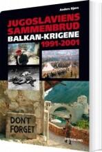 jugoslaviens sammenbrud - bog