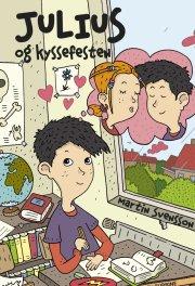 julius og kyssefesten - bog