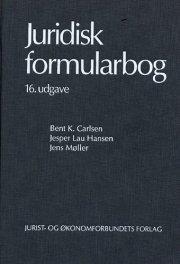 juridisk formularbog 16.udg - bog