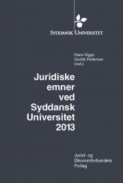 juridiske emner ved syddansk universitet 2013 - bog