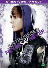 justin bieber - never say never - directors fan cut - DVD