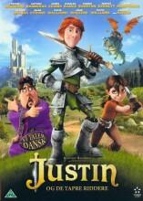 justin og de tapre riddere / justin and the knights of valour - DVD