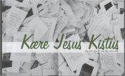 kære jesus kistus - bog