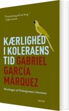 kærlighed i koleraens tid - bog