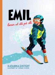 emil lærer at stå på ski - bog