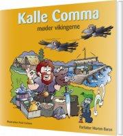 kalle comma møder vikingerne - bog