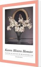 karen blixens blomster - bog