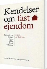 kendelser om fast ejendom 2013/3 - bog