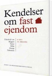 kendelser om fast ejendom 2013/6 - bog