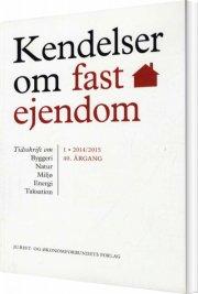 kendelser om fast ejendom 2014/1 - bog