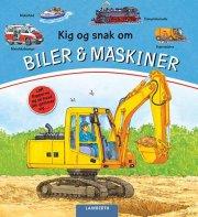 kig og snak om biler og maskiner - bog