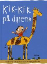 kik-kik på dyrene - bog
