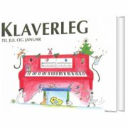 klaverleg til jul og januar  - rød