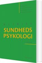 klinisk sundhedspsykologi - bog