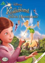 klokkeblomst og feernes hemmelighed - disney - DVD