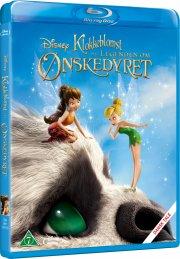 klokkeblomst og legenden om ønskedyret / tinker bell and the legend of the neverbeast - Blu-Ray