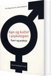 køn og kultur i psykologien - bog