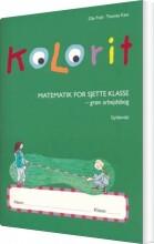 kolorit 6. klasse, grøn arbejdsbog - bog