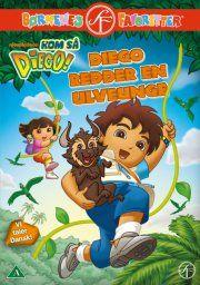 kom så diego / go diego go - diego redder en ulveunge - DVD