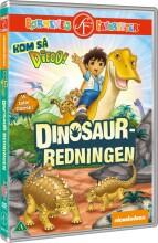 kom så diego - dinosaur-redningen - DVD
