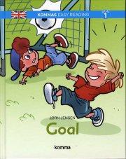 kommas easy reading: goal - bog