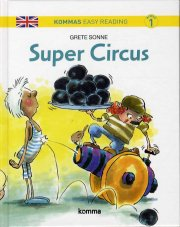 kommas easy reading: super cirkus - bog