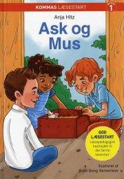 kommas læsestart: ask og mus - niveau 1 - bog