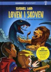 kommas læsestart: elvernes land 2 - løven i skoven- niveau 2 - bog