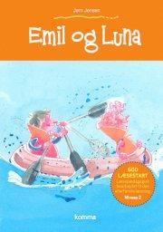 kommas læsestart: emil og luna - niveau 2 - bog