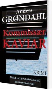 kommissær kaviar - bog
