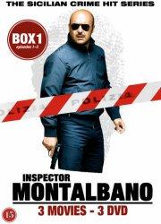 kommissær montalbano - box 1 - episode 1-3 - DVD
