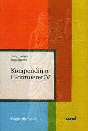 kompendium i formueret iv - bog