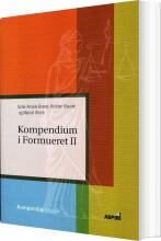 kompendium i formueret ll - bog
