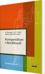 kompendium i retsfilosofi - bog