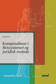 kompendium i retssystemet og juridisk metode - bog