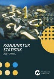 konjunkturstatistik 2007 - april - bog