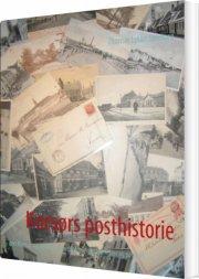 korsørs posthistorie - bog