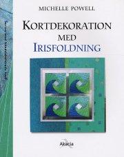 kortdekoration med irisfoldning - bog