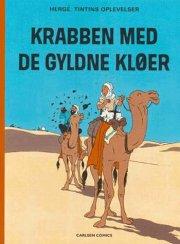 krabben med de gyldne kløer - tintin 17 - bog