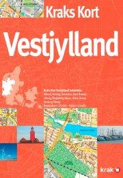 kraks kort vestjylland - bog
