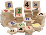 krea magnet bogstaver + tal + tegn i træ til magnettavle - Kreativitet