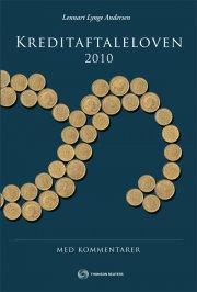 kreditaftaleloven 2010 med kommentarer - bog