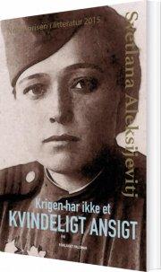krigen har ikke et kvindeligt ansigt - bog