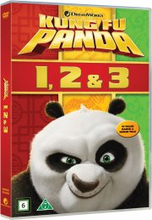 kung fu panda 1-3 box - DVD