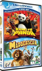 kung fu panda // madagascar - DVD